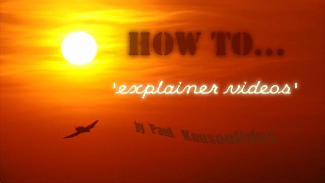 Explainer Video banner